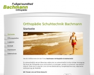Bild Bachmann Orthopädie-Schuhtechnik