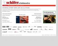Bild Webseite Schäfer Schuhmoden Wolfgang u. Harald Schäfer München