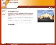 Bild Webseite Storbeck Torsten Bau- u. Möbeltischerei Tangerhütte