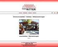 Bild Ritter Thomas GmbH Zimmergeschäft Treppenbau