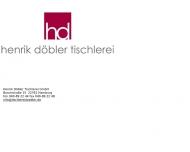 Bild Henrik Döbler Tischlerei GmbH