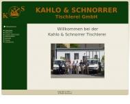 Bild Kahlo u. Schnorrer Tischlerei GmbH Tischlerei