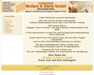 Bild Webseite Mullers & Startz Alsdorf