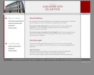 Bild Webseite Einstweilige Vertretung Berlin