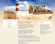 Bild Webseite Tischlerei Sneikus Sylt-Ost