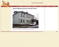 Bild Webseite Tischlerei Thiele Freital