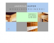 Website Küper Andreas