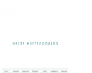 Website Hinterdobler Heinz