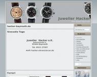 Leonhard hacker bayreuth altstadt uhren for Depot bayreuth