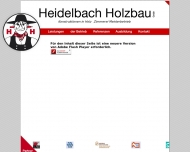 Bild Webseite Heidelbach Holzbau Köln