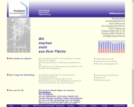 Bild Webseite PlusQuadrat Immobilien-Service Hamburg