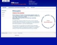 Website VIA