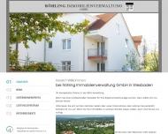 Bild Webseite Röhling Immobilienverwaltung Wiesbaden