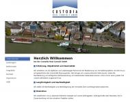Bild Webseite Custodia Vermittlung  u. Verwaltung Duisburg
