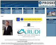 Bild Webseite Proske Andreas Halle
