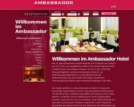 Willkommen im Ambassador Hotel Frankfurt - Hotel