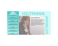 Bild Webseite Hiltmann Immobilien Frankfurt