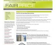 Bild Webseite Osthoff + Partner Immobilien München