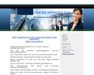 Bild Webseite Fricke Immobilien Magdeburg
