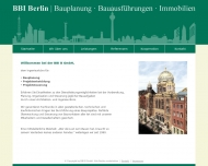 Bild Webseite BBI B Berlin