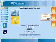 Bild Webseite Tangermann & Partner Immobilienmarketing Magdeburg