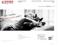 Bild Webseite Kayser Immobilien Lübeck