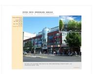 Bild Webseite Peter Fritz Immobilien Berlin