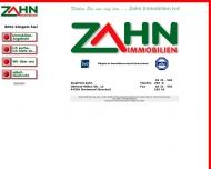 Website Zahn Immobilien VDM