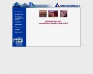 Bild Webseite GRUNDCONSULT Projektentwickl. u. Immobilien Management Frankfurt