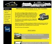 Bild Webseite Dr. Meier Immobilien Dresden