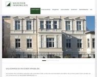 Bild Webseite MAXEINER IMMOBILIEN Köln