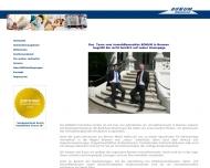 Bild Webseite Bonum Anlage- und Beteiligung Bremen