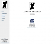 Website Rolf Andresen Immobilienvermittlung