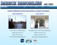 Bild Webseite Karl-Heinz Imbeck -Imbeck Immobilien- Hamburg