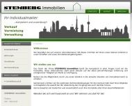 Bild Webseite Stemberg Immobilien Berlin