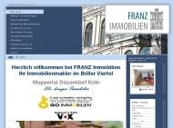 Bild Webseite Franz Wuppertal