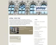 Bild Webseite Philipp Immobilien RDM/VHH Hamburg