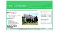 Bild Webseite Schröder Dortmund