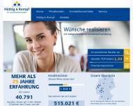 Bild Webseite Hüttig & Rompf Immobilienfinanzierungsbüro Köln