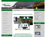 Bild Webseite Quick Immobilien Verwaltung Köln