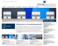 Bild Webseite Jacobi Immobilien Hamburg