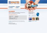 Website Akustik und Trockenbau Nowatzki