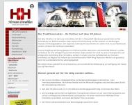 Bild Webseite Hermann Harald Immobilien RDM Düsseldorf
