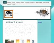Bild Webseite Deppe Georg Immobilien Düsseldorf