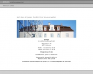 Bild Webseite prohaus Immobilienverwaltung München