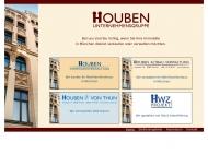 Bild Webseite Houben-Immobilien München
