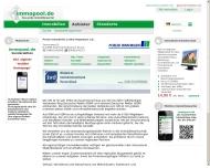 Bild Webseite Lothar Hagemann Immobilien Hamburg