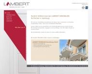 Bild Webseite Lambert Immobilien Verwaltung Hamburg