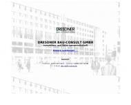 Bild Webseite Dresdner Bau-Consult Dresden