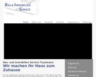 Bild Webseite Trautmann G. Bau- und Immobilienservice Dresden